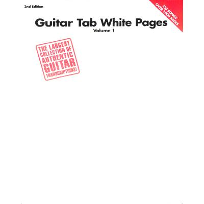 GUITAR TAB WHITE PAGES - SECOND EDITION