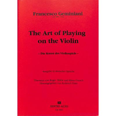 die-kunst-des-violinspiels
