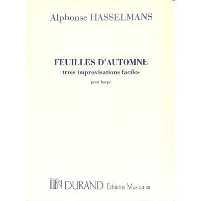 FEUILLES D'AUTOMNE - 3 IMPROVISATIONS FACILE