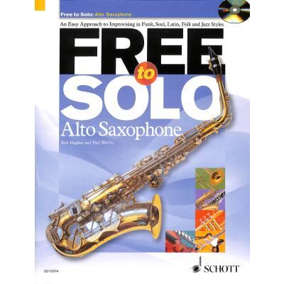 Free to Solo - Alto Saxophone