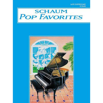 POP FAVORITES B - BLUE BOOK
