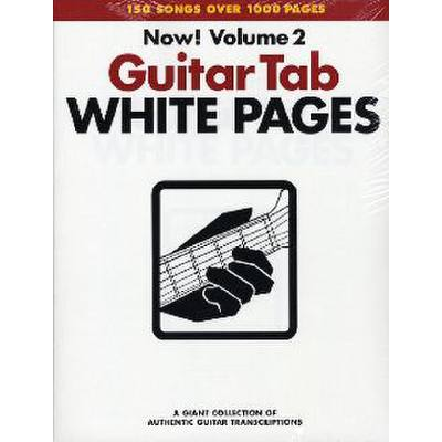 Guitar tab white pages 2