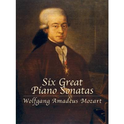 6 GREAT PIANO SONATAS