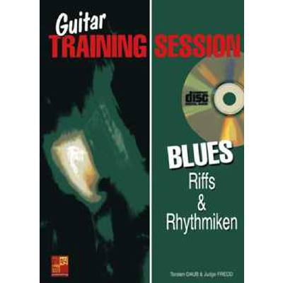 GUITAR TRAINING SESSION - BLUES RIFFS + RHYTHMIKEN