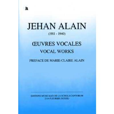 Oeuvres Vocales
