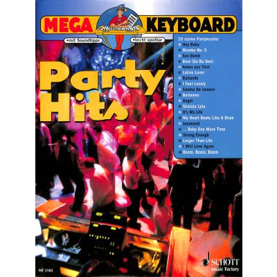 MEGA KEYBOARD - PARTY HITS