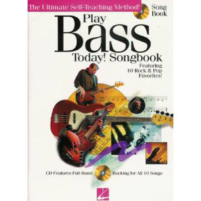 Play bass today - songbook