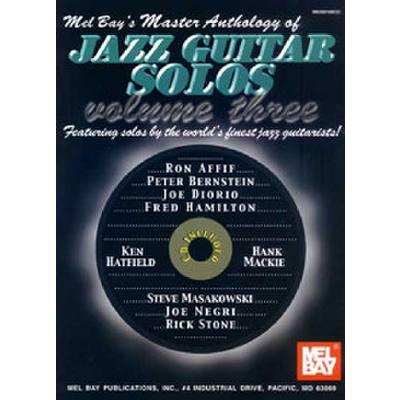 MASTER ANTHOLOGY OF JAZZ GUITAR SOLOS 3
