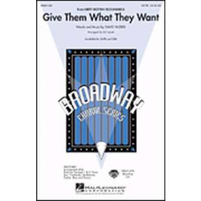 give-them-what-they-want-aus-dirty-rotten-scoundrels-, 2.95 EUR @ notenbuch-de