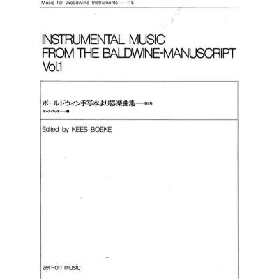 instrumental-music-from-the-baldwin-manuscript-vol-1, 18.95 EUR @ notenbuch-de