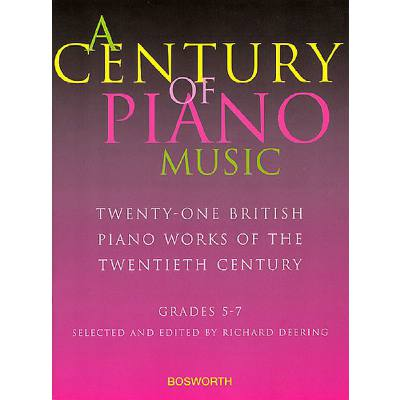 A CENTURY OF PIANO MUSIC GRADE 5-7