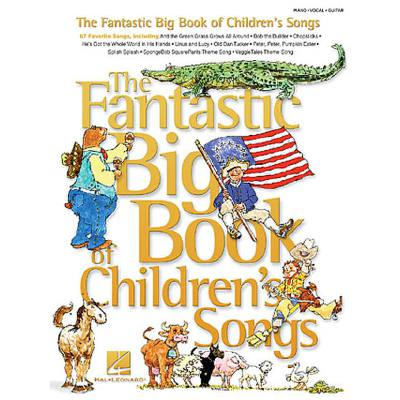 FANTASTIC BIG BOOK OF CHILDREN´S SONGS