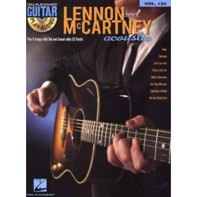 Lennon + McCartney acoustic
