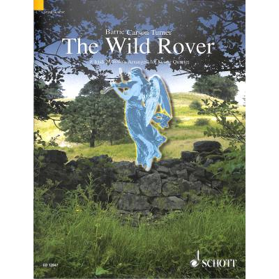 THE WILD ROVER - 8 IRISCHE MELODIEN - broschei