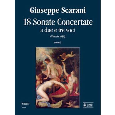 18 Sonate concertate a due e tre voci