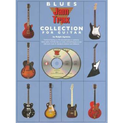 Blues jam trax - collection for guitar