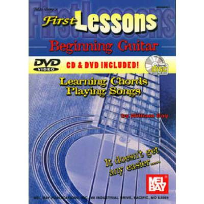 FIRST LESSONS BEGINNING GUITAR