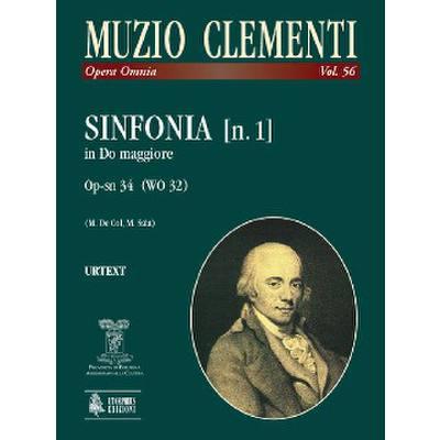 Sinfonie 1 C-Dur op SN 34 (WO 32)