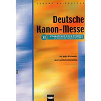 Deutsche Kanonmesse 11