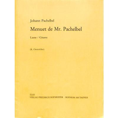 Menuett de Mr Pachelbel