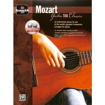 Basix Mozart - guitar tab classics
