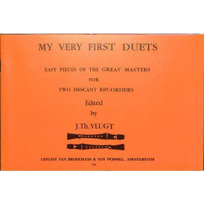 my-very-first-duets-1, 7.95 EUR @ notenbuch-de