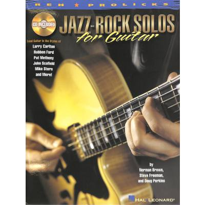 Jazz Rock solos for guitar