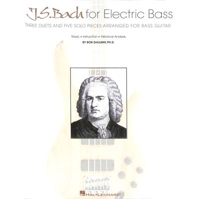 Bach for electric bass