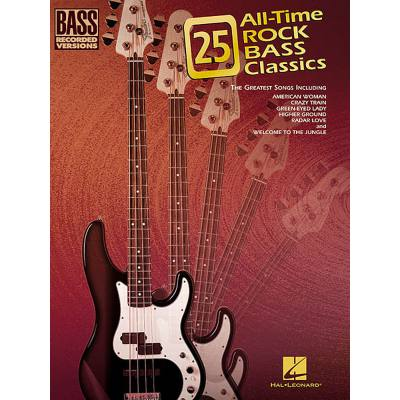 25 all time Rock bass classics