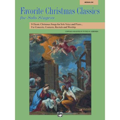 FAVORITE CHRISTMAS CLASSICS FOR SOLO SINGERS - ...