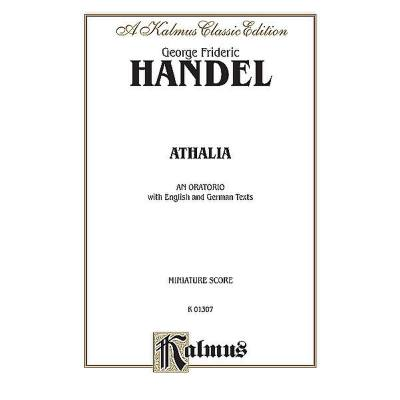 Athalia HWV 52 - Oratorium