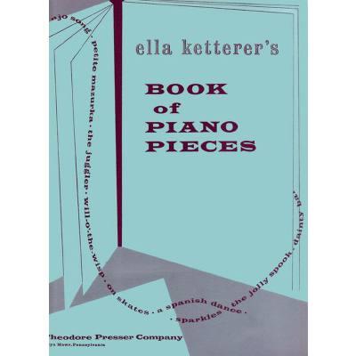 Book of piano pieces