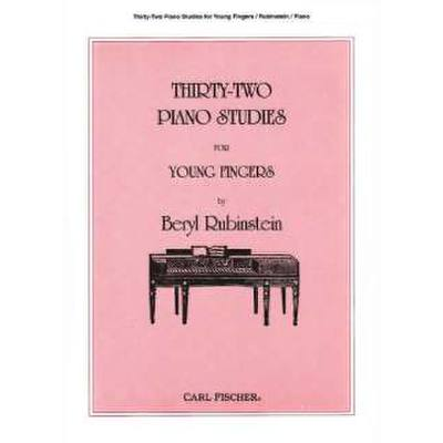 32-piano-studies-for-young-fingers