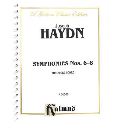 Sinfonien 6-8