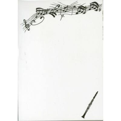 notizblock-klarinette