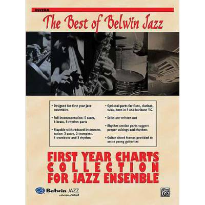 FIRST YEAR CHARTS COLLECTION FOE JAZZ ENSEMBLE