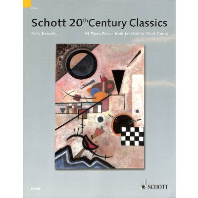 SCHOTT´S 20TH CENTURY PIANO CLASSICS | 54 Piece...