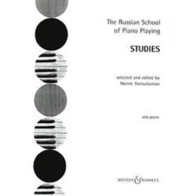 Studies - Russian school of piano playing