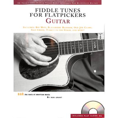 Fiddle tunes for flatpickers guitar
