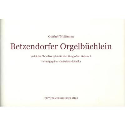 betzendorfer-orgelbuchlein
