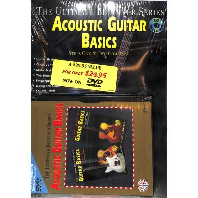 ACOUSTIC GUITAR BASICS 1 + 2