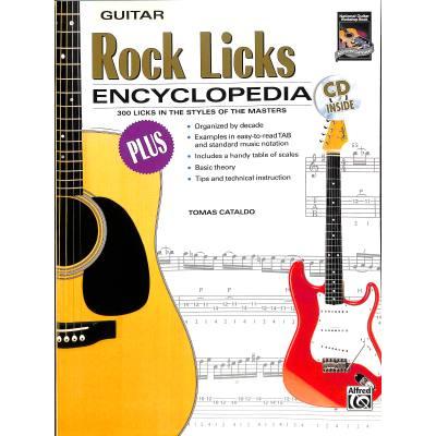 Rock licks encyclopedia