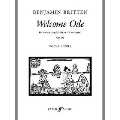 Faber Music Britten Benjamin - Welcome Ode Mixed Voices (per 10 Minimum) jetztbilligerkaufen