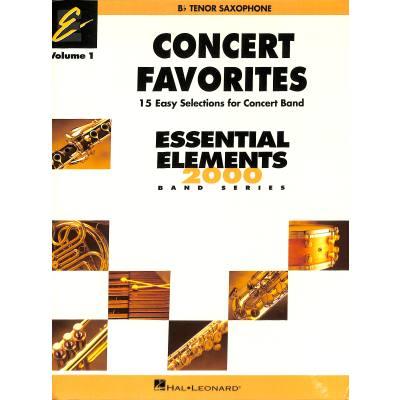 Concert favorites 1