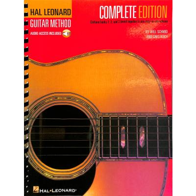 Complete guitar method 1-3