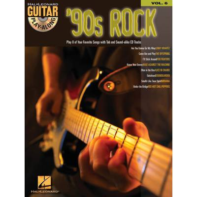 90's Rock guitar play along 6