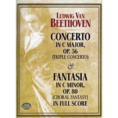 Konzert C-Dur op 56 + Fantasie c-moll op 80
