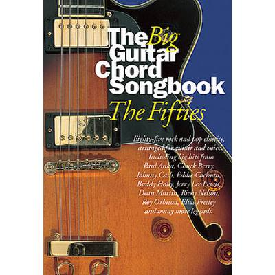 THE BIG GUITAR CHORD SONGBOOK - THE FIFTIES