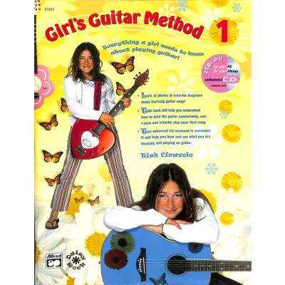 Girl's guitar method 1