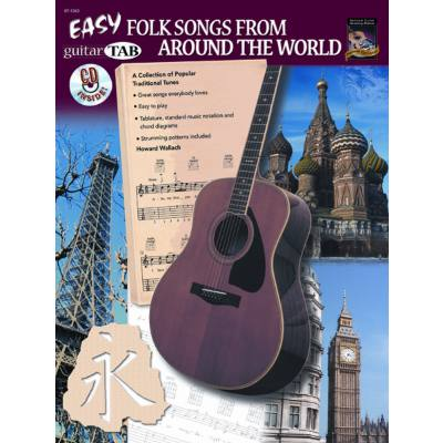 Easy folk songs from around the world